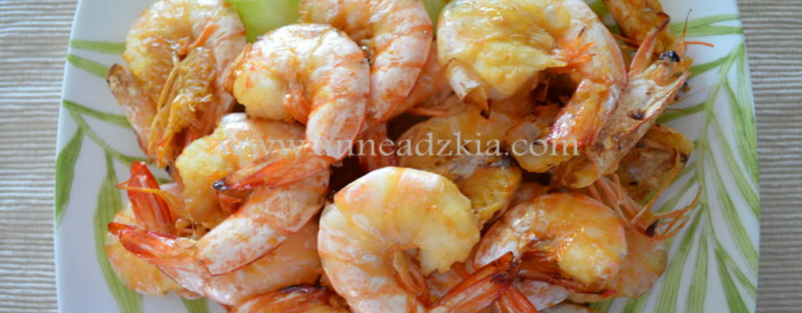 Grilled Garlic Prawn Recipe