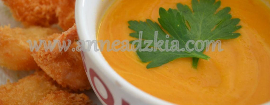 Resep Pumpkin Soup ala Dapur Anne