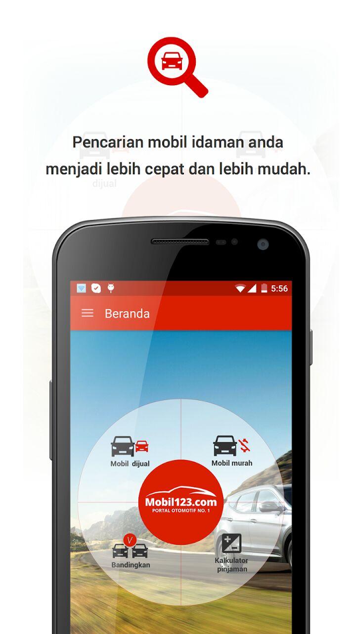 Transaksi Otomotif Pake Jari di Mobil123 for Android