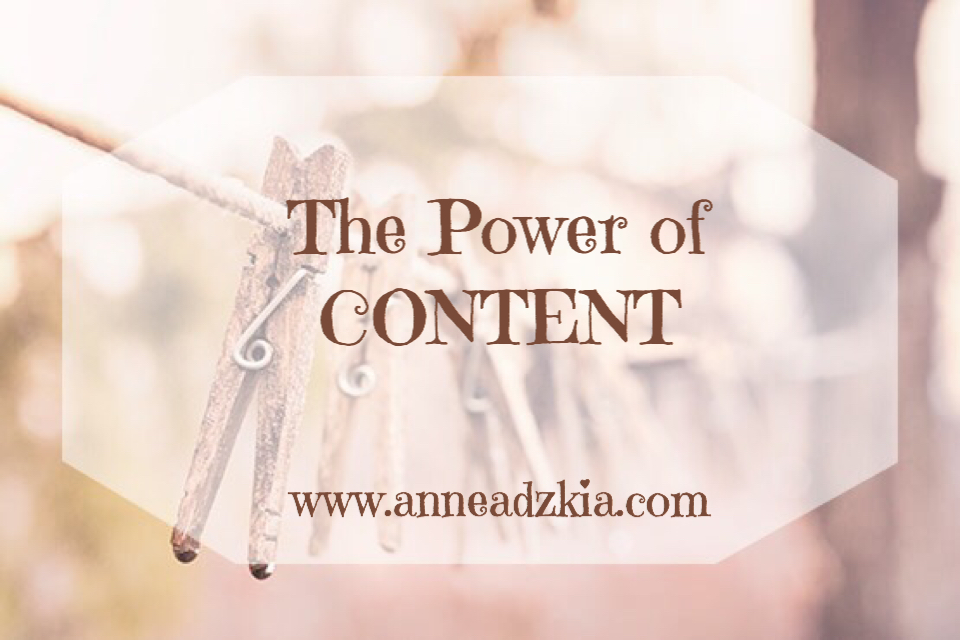 The Power of Content