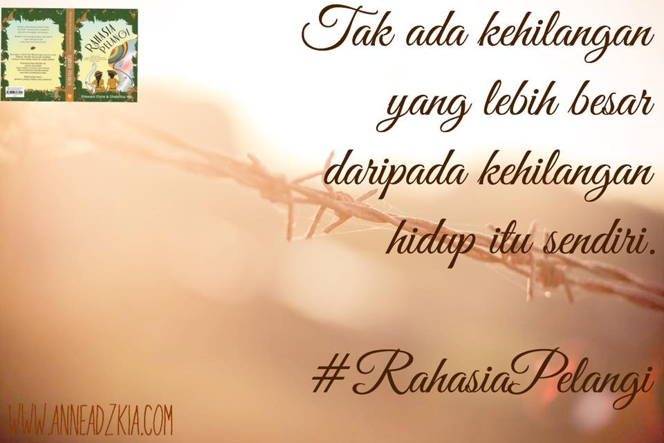 Review Novel Rahasia Pelangi