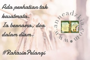 review rahasia pelangi