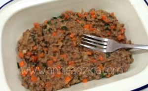 minced beef mix