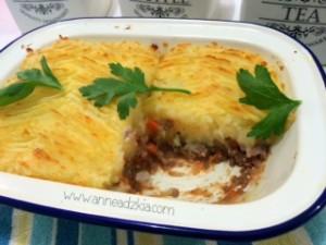 resep shepherd's pie