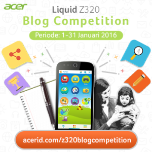 acer liquid Z320 banner competition