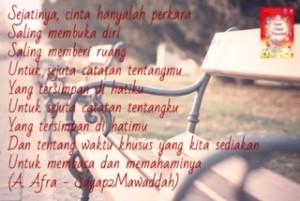 sayap sayap mawaddah quotes