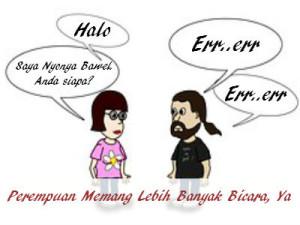 perempuan bicara lebih banyak