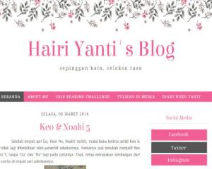blog yanti