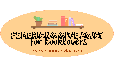 Pengumuman Giveaway for Booklovers