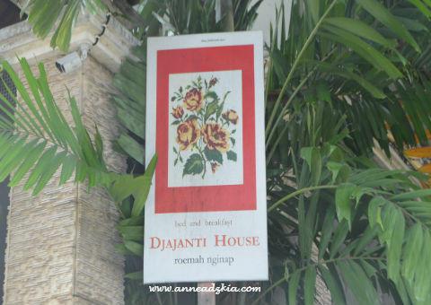 Djajanti House, Hotel Instagrammable Di Semarang
