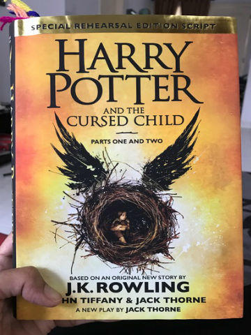 Review Novel: Harry Potter and The Cursed Child