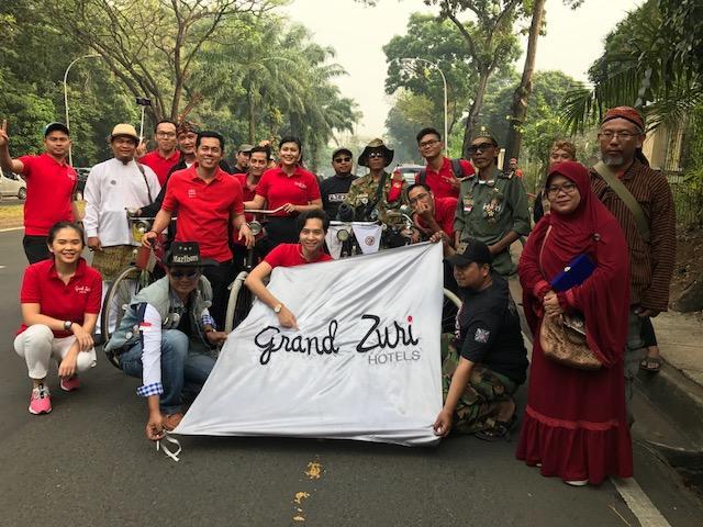 Merawat Semangat Kemerdekaan bersama Grand Zuri BSD dan Komunitas Onthel